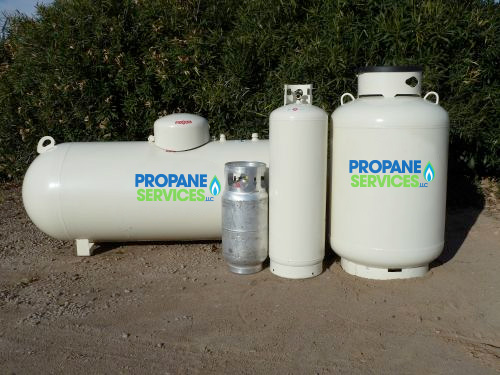 Propane Tanks Offered By Propane Services